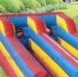 Deux voies de l'exécution Bungee gonflable pour le divertissement de jeu