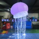 1.5m Diamètre publicitaire gonflable en plein air ballons de lumière