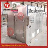 Máquina de sequía del deshidratador del alimento vegetal con la bandeja y los carros