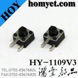 Interrupteur de tact DIP haute qualité avec bouton latéral 4.5 * 4.5mm 2pin (HY-1109V)