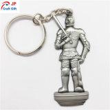 Metallo su ordinazione Keychain di figura del guerriero