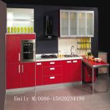 Kitchen CabinetのためのGlossy白人の紫外線MDF Door
