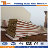 Heißer Verkauf Rockwool Sand Wichpanel für Stahlkonstruktion-Bauunternehmen
