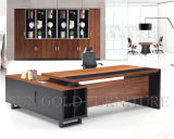 Hotsale 말레이지아 사무실 테이블 디자인 검정 현대 CEO 책상 (SZ-OD356)