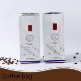 Мешок кофеего Gusset плоского дна раговорного жанра штейновым прокатанный алюминием с замком застежка-молнии/пластичным мешком упаковки (ML-E24)