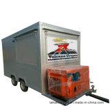Neuer heißer Verkaufs-LKW-Schnellimbiss-mobiler Schnellimbiss-Schlussteil