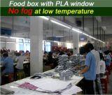 Caixa de comida fresca (W170) com 100% de celulose de madeira
