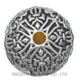 Ретро выбитая типом кнопка металла для кнопок металла джинсыов пальто