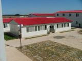 Pré-fabricados e design elegante estrutura de aço leve House (KXD-48)