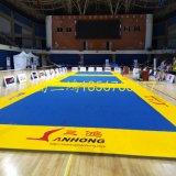 Preiswerte Aikido Tatami Matten Bjj zackige Fußboden-Kampfkunst-Matten Flexi gerollt herauf Cheerleading-ringende Matten