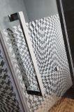 Certificação ce de vidro de segurança temperado da estrutura de aço inoxidável para duche 60 polegada * 74 polegada