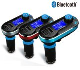 accesorios para teléfonos inalámbricos Bluetooth, cargador de coche manos libres Bt66