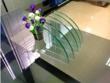 Poli Taille personnalisée à bord rond trempé morceaux de verre rondes