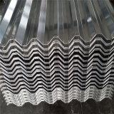 Plaque ondulée de /Gi/PPGI de feuille de toiture galvanisée par paillette