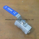 Steel di acciaio inossidabile 1PC Ball Valve Without Lock