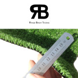 Grama artificial sintética do relvado do gramado do tapete da decoração da estrada para ajardinar