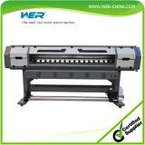 2 Dx5 헤드 1440dpi 최대 PVC 비닐 Eco 용매 인쇄 기계에 1.8m