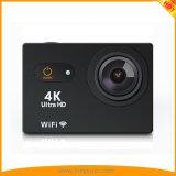 2018 a câmera a mais nova da ação da tela de toque 4K