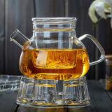 ガラスやかんのガラス水差しのホウケイ酸塩ガラスのコーヒー鍋北欧様式ガラスのティーポット