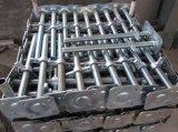 Hollwの足場ねじジャック電流を通された鋼鉄ベース