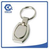 Дешевая изготовленный на заказ вращая цепь металла сувенира ключевая