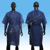 Hygienisch mit heraus Sleeve geduldiges Kleid/Krankenhaus-Kleidung mit kurzer Hülse