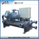 Refrigeratore raffreddato ad acqua industriale della vite/pianta più fredda