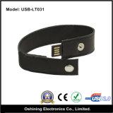 Disco di cuoio del USB del braccialetto (USB-031)