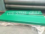 Metal Aluzinc Teja/Hoja de techo de acero corrugado PPGL