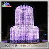 Самая низкая цена высококачественный светодиодный индикатор фонтан Рождества