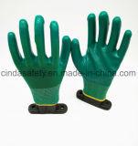 Для использования вне помещений труда защитные нитриловые перчатки работы