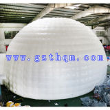 White二重PVC Inflatable TentかArc Bubble Inflatable Tent
