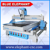 Máquina de grabado de trabajo de madera 3D del CNC 1325 1300X2500m m los 4X8FT con eje rotatorio del total 4 del eje