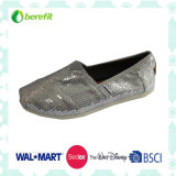 Canvas Shoes van meisjes met Glitter Decoration en EVA Sole