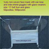 Ly Masque antipoussière avec protection de l'oeil (LY-FM-E)