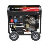 6kw het draagbare Diesel Open Frame van de Generator met Wielen