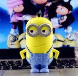 Kreative Minikarikatur-kleine gelbe Leute drahtlose Bluetooth Stereolautsprecher