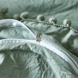 Tela di base guarnita del coperchio del Comforter di Wahsed Microfiber