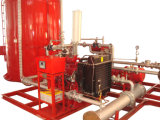Sistema de Bomba de Espuma / Espuma de Incêndio Skid / Balance Pressure Foam Proportioning Unit