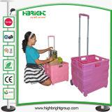 パック及びロールFoldable買物車(HBE-FP-1)