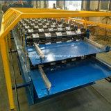 Rodillo de acero esmaltado coloreado del panel del azulejo de azotea R que forma la máquina