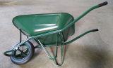 O carrinho de mão de roda o mais barato do metal