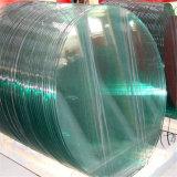 10mm des bords polis plat en verre trempé clair