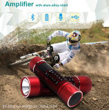 Mini водонепроницаемый Shock-Resistant и АС с Bluetooth Antimagne портативное зарядное устройство фонарик Bluetooth аудио систему усилителя