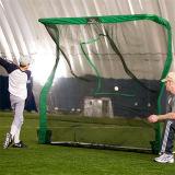 Rede 100% atada HDPE do basebol do Virgin para a gaiola de batedura