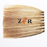 Da ponta minúscula chinesa do cabelo da cor de tom dois cabelo humano desenhado natural