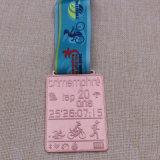 Custom Metal Karate / Correr / Moneda / Medallón / Oro / Plata / Bronce / Esmalte / Maratón / Insignia / Medalla de deporte con la cinta