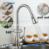 Le laiton 2016 neuf retirent le mélangeur simple de Hot&Cold de robinet de taraud de bassin de cuisine de traitement d'émerillon