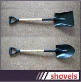 Хорошего качества сельскохозяйственных углеродистой стали строительство лопаты деревянной ручкой сошника