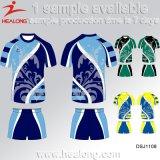 Serviço ODM Healong sublimação da Engrenagem de vestuário desportivo Rugby League júnior fardas de serviço